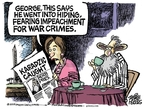 Mike Peters  Mike Peters' Editorial Cartoons 2008-07-25 impeachment
