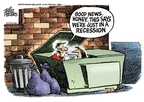 Mike Peters  Mike Peters' Editorial Cartoons 2008-09-23 economy