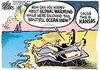 Mike Peters  Mike Peters' Editorial Cartoons 2008-09-24 beach