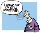 Mike Peters  Mike Peters' Editorial Cartoons 2004-11-06 democracy