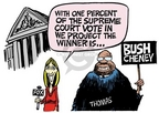 Mike Peters  Mike Peters' Editorial Cartoons 2004-11-07 2004 election