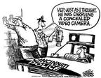 Mike Peters  Mike Peters' Editorial Cartoons 2003-12-04 enforcement