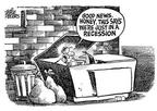Mike Peters  Mike Peters' Editorial Cartoons 2001-12-14 economy