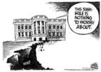 Mike Peters  Mike Peters' Editorial Cartoons 2004-12-23 sinkhole