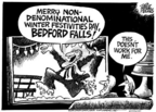 Mike Peters  Mike Peters' Editorial Cartoons 2004-12-25 Christmas