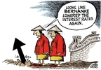 Mike Peters  Mike Peters' Editorial Cartoons 2008-12-24 China