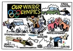 Mike Peters  Mike Peters' Editorial Cartoons 2010-02-12 2010 Olympics