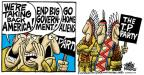 Mike Peters  Mike Peters' Editorial Cartoons 2010-04-23 illegal immigration