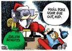 Mike Peters  Mike Peters' Editorial Cartoons 2010-12-01 claus