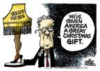 Mike Peters  Mike Peters' Editorial Cartoons 2010-12-17 Christmas