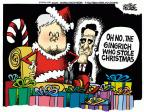 Mike Peters  Mike Peters' Editorial Cartoons 2011-12-07 Christmas