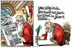 Mike Peters  Mike Peters' Editorial Cartoons 2011-12-10 claus