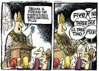 Mike Peters  Mike Peters' Editorial Cartoons 2012-02-08 Obamacare
