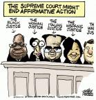 Mike Peters  Mike Peters' Editorial Cartoons 2012-02-24 Supreme Court