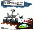 Mike Peters  Mike Peters' Editorial Cartoons 2012-08-08 climate change