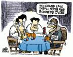 Mike Peters  Mike Peters' Editorial Cartoons 2012-09-28 Mitt Romney