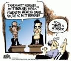Mike Peters  Mike Peters' Editorial Cartoons 2012-10-02 Mitt Romney