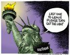 Mike Peters  Mike Peters' Editorial Cartoons 2013-09-27 government shutdown
