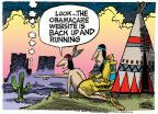 Mike Peters  Mike Peters' Editorial Cartoons 2013-10-17 Obamacare