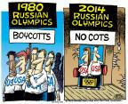Mike Peters  Mike Peters' Editorial Cartoons 2014-02-06 2014 Olympics