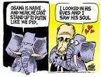 Mike Peters  Mike Peters' Editorial Cartoons 2014-03-05 Vladimir Putin