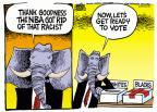 Mike Peters  Mike Peters' Editorial Cartoons 2014-05-01 racism