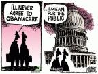 Mike Peters  Mike Peters' Editorial Cartoons 2014-05-29 Obamacare