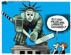 Mike Peters  Mike Peters' Editorial Cartoons 2014-07-09 immigrant