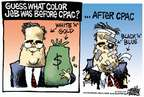 Mike Peters  Mike Peters' Editorial Cartoons 2015-02-28 2016 election Jeb Bush