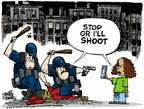 Mike Peters  Mike Peters' Editorial Cartoons 2015-05-01 police