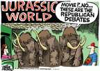 Mike Peters  Mike Peters' Editorial Cartoons 2015-06-05 jurassic