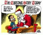 Mike Peters  Mike Peters' Editorial Cartoons 2015-12-30 claus