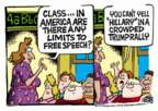 Mike Peters  Mike Peters' Editorial Cartoons 2016-03-16 freedom of speech