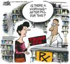 Mike Peters  Mike Peters' Editorial Cartoons 2017-01-24 2016 election