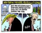 Mike Peters  Mike Peters' Editorial Cartoons 2017-12-28 FBI