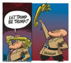 Mike Peters  Mike Peters' Editorial Cartoons 2018-03-14 Donald Trump