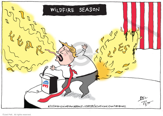 Wildfire season. Fear. Lies.