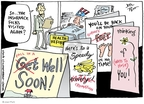 Joel Pett  Joel Pett's Editorial Cartoons 2009-07-30 patient
