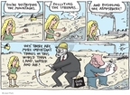 Joel Pett  Joel Pett's Editorial Cartoons 2009-09-20 dollar