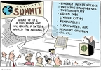 Joel Pett  Joel Pett's Editorial Cartoons 2009-12-07 climate change