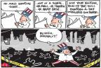 Joel Pett  Joel Pett's Editorial Cartoons 2013-01-04 shooting