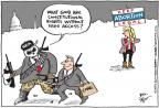 Joel Pett  Joel Pett's Editorial Cartoons 2013-01-23 violence against women