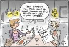 Joel Pett  Joel Pett's Editorial Cartoons 2013-01-27 violence against women