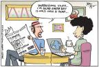 Joel Pett  Joel Pett's Editorial Cartoons 2013-04-23 extinct