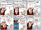 Joel Pett  Joel Pett's Editorial Cartoons 2017-03-23 distraction