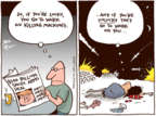 Joel Pett  Joel Pett's Editorial Cartoons 2017-05-23 armament