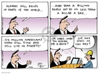 Joel Pett  Joel Pett's Editorial Cartoons 2001-09-02 million
