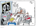 Joel Pett  Joel Pett's Editorial Cartoons 2003-02-16 patient