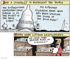Joel Pett  Joel Pett's Editorial Cartoons 2003-04-27 corruption