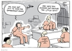 Joel Pett  Joel Pett's Editorial Cartoons 2008-06-15 jailbird